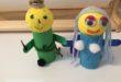 Como hacer muñecos con cartón y poliespan